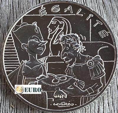 10 euro France 2015 - Asterix égalité Cleopatra