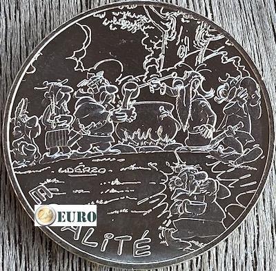 10 euro France 2015 - Asterix égalité Gladiator