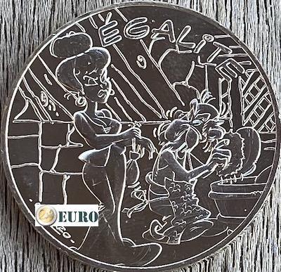 10 euro France 2015 - Asterix égalité Roman Agent