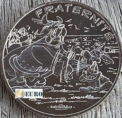 10 euro France 2015 - Asterix fraternité and the Normans
