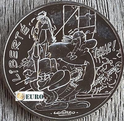 10 euro France 2015 - Asterix Liberté In Britain