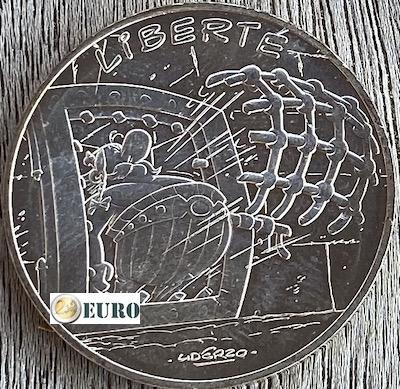 10 euro France 2015 - Asterix Liberté the Golden Sickle