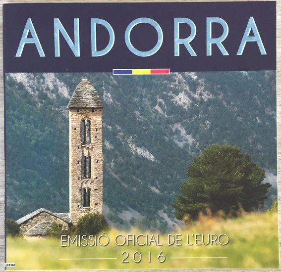 Euro set BU FDC Andorra 2016