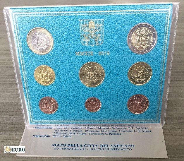 Euro set BU FDC Vatican 2019
