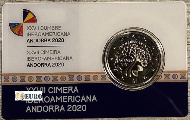 2 euro Andorra 2020 - Ibero-American summit BE proof