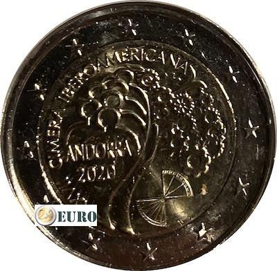 2 euro Andorra 2020 - Ibero-American summit UNC