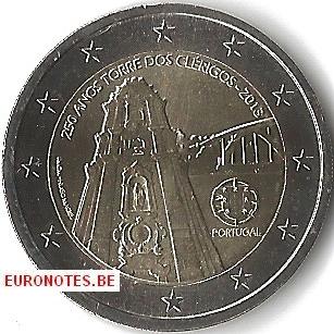 Portugal 2013 - 2 euro Torre dos Clérigos UNC