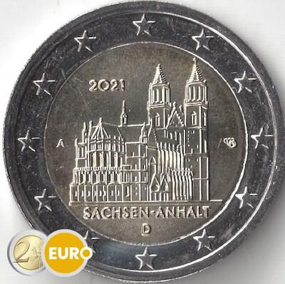 2 euro Germany 2021 - A Saxony-Anhalt UNC