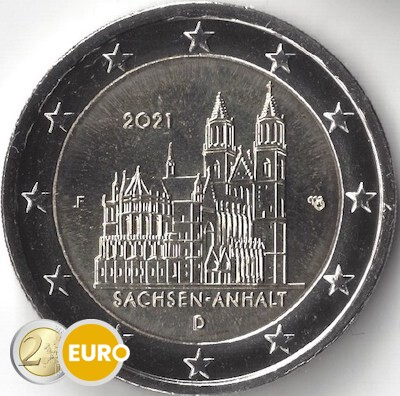2 euro Germany 2021 - F Saxony-Anhalt UNC
