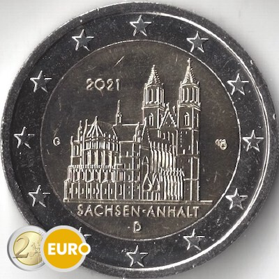 2 euro Germany 2021 - G Saxony-Anhalt UNC