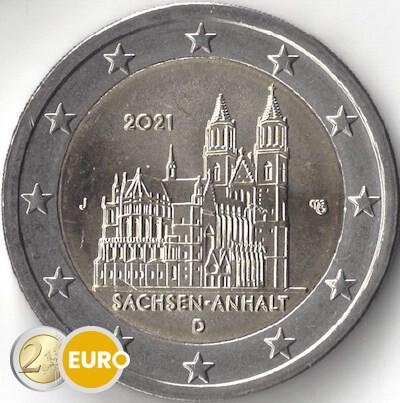 2 euro Germany 2021 - J Saxony-Anhalt UNC