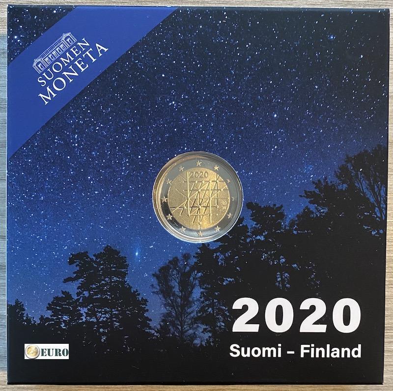 2 euro Finland 2020 - University of Turku BE Proof
