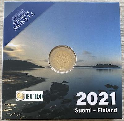 2 euro Finland 2021 - Journalism BE Proof