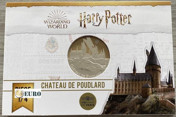 50 euro France 2021 - Harry Potter Hogwarts Castle BE Proof Silver Coloured