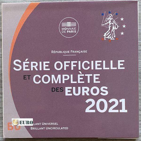 Euro set BU FDC France 2021