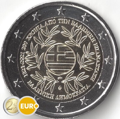 2 euro Greece 2021 - Greek Revolution UNC