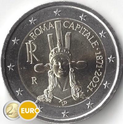 2 euro Italy 2021 - 150 years Rome Capital UNC