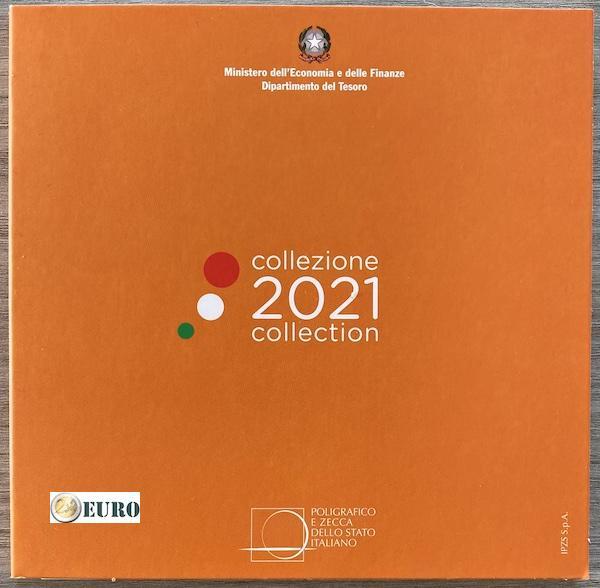 Euro set BU FDC Italy 2021
