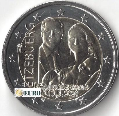 2 euro Luxembourg 2020 - Birth of Charles of Luxembourg UNC