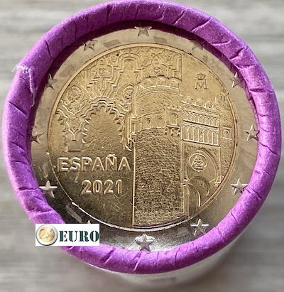 Roll 2 euro Spain 2021 - Old town of Toledo