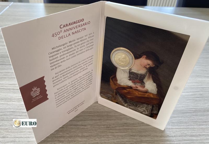 2 euro San Marino 2021 - Caravaggio BU FDC