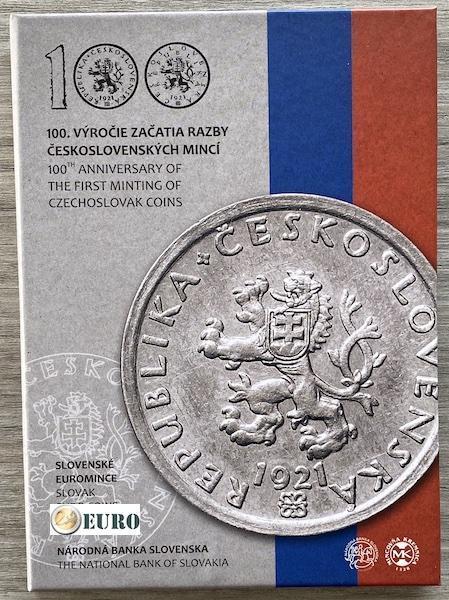 Euro set BE Proof Slovakia 2021 - Czechoslovak coins