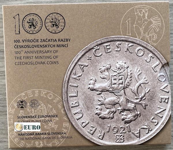 Euro set BU FDC Slovakia 2021 - Czechoslovak coins