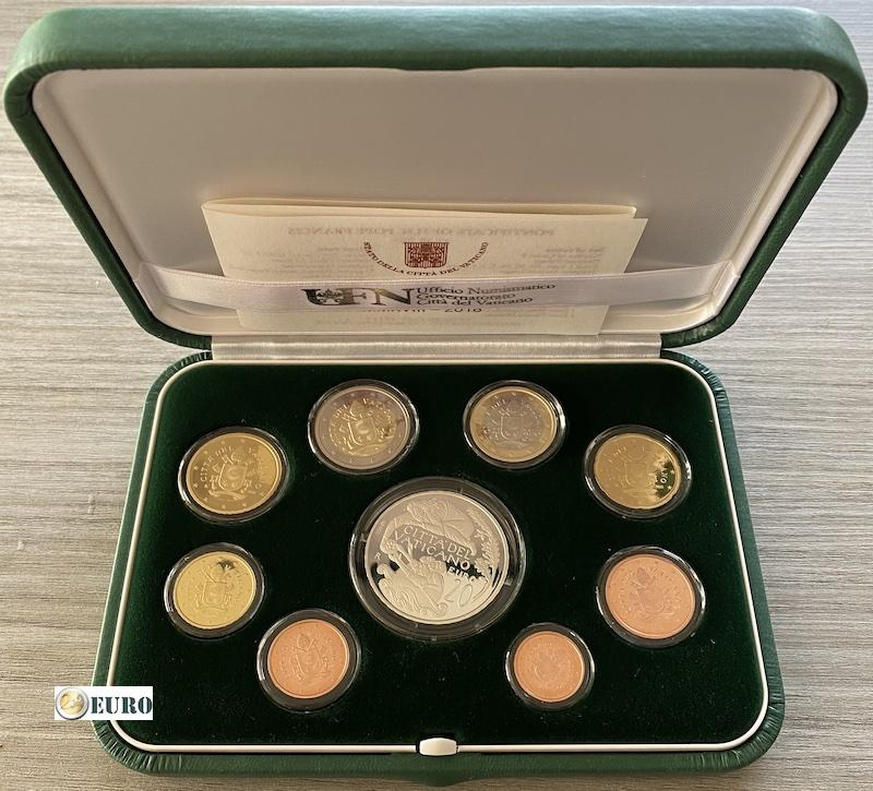 Euro set BE Proof Vatican 2018 + 20 euro silver