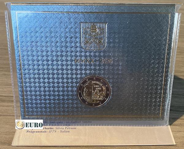 2 euro Vatican 2020 - Raffaello BU FDC