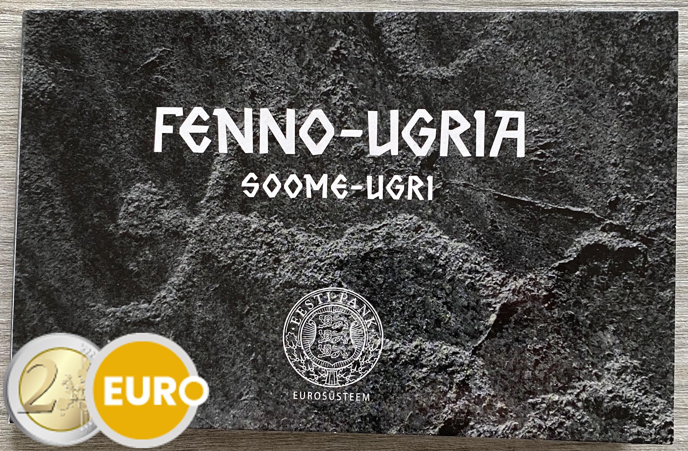 2 euro Estonia 2021 - Finno-Ugric peoples BU FDC Coincard