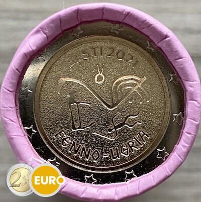 Roll 2 euro Estonia 2021 - Finno-Ugric peoples