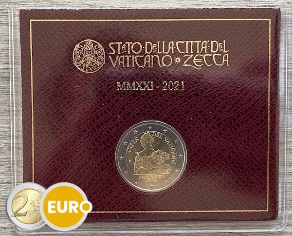 2 euro Vatican 2021 - Caravaggio BU FDC