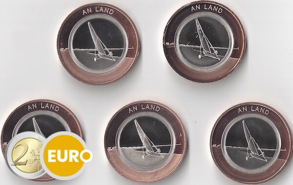 10 euro Germany 2020 - On land ADFGJ UNC