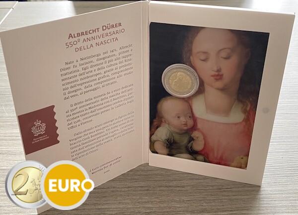 2 euro San Marino 2021 - Albrecht Dürer BU FDC