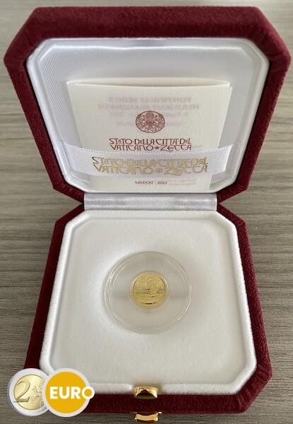 10 euro Vatican 2021 - Baptism BE Proof Gold