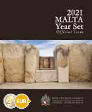 Euro set BU FDC Malta 2021 + 2 euro Tarxien Temple